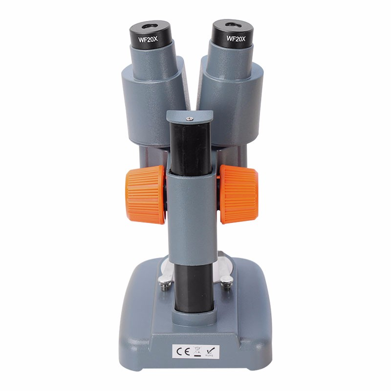Microscopio stereo binoculare AOMEKIE 20X / 40X sopra luci a LED PCB - Strumenti di misura - Fotografia 5