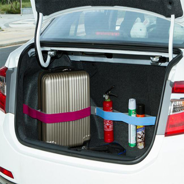Car Trunk Organizer Elastic Car-styling Strap Fixed Sundry Stowing Tidying Strap Belt Auto Interior Accessories 40CM 60CM 80CM