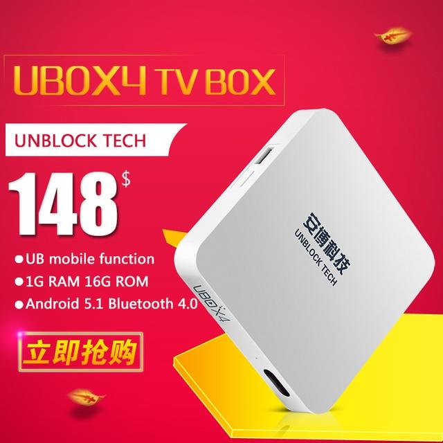 Ubox4 Ubox3 Bỏ Cấm Công Nghệ S900 pro ubox gen 4 TV box Android 4.4 5.1 Bluetooth HDUBTV IPTV thông minh tv kodi đối với Nhật Bản Singapore