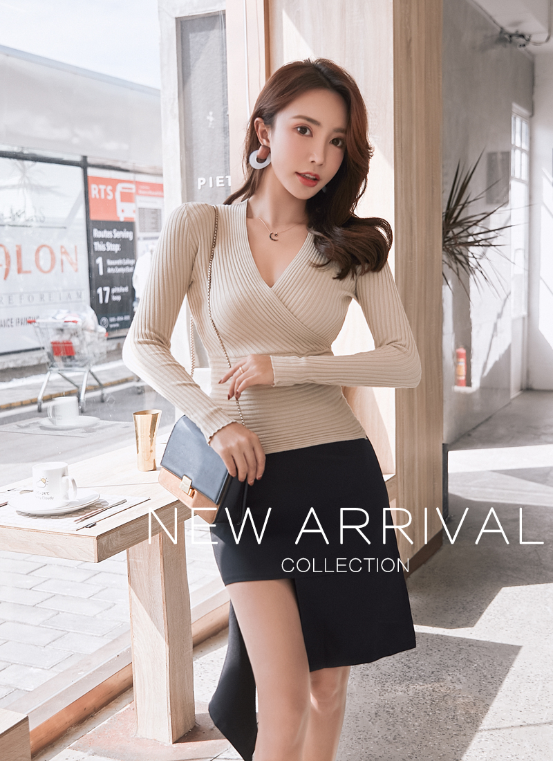 19 New Sexy Deep V Neck Sweater Women's Pullover Casual Slim Bottoming Sweaters Female Elastic Cotton Long Sleeve Tops Femme 4