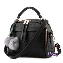 Free shipping, 2017 new women handbags, fashion Korean version shoulder bag, shell messenger bag, simple woman shoulder bag.