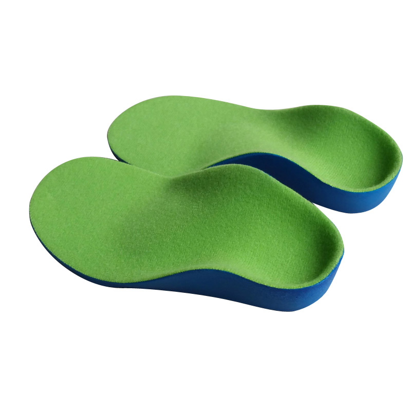 High Quality Kids PU orthopedic insoles for children shoes flat foot arch support orthotic Pads Correction health feet care high quality o leg orthotic shoe pad arch support insoles foot care massage shoes pads shock absorbant breathable insole xd 042