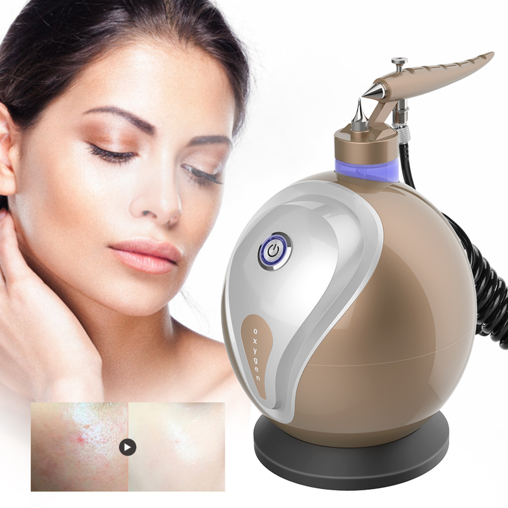 Micro-nano Moisturizing Oxygen Sprayer Machine Anti Wrinkle Skin Rejuvenation Facial Whiten Oxygen Therapy Beauty Steamer Device цена