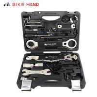 Bicycle Repair Tools Kit 18 in 1 Box Set Multifunction MTB Bike Repair Tools Spoke Wrench Kit Tool Hex Screwdriver Bike