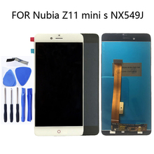 5.2 inch for ZTE Nubia Z11 Mini S NX549J LCD monitor and touch screen for ZTE Nubia Z11 Mini S NX549J display components + tools