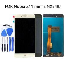 5.2 אינץ לzte נוביה Z11 מיני S NX549J LCD צג מגע מסך לzte נוביה Z11 מיני S NX549J תצוגת רכיבים + כלים