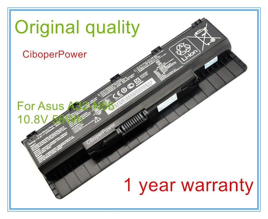 Original Laptop Battery for N46 N46V N46VJ N46VM N46VZ N56 N56V N56VJ N56VM N76 N76VZ A31-N56 A32-N56 A33-N56 цена
