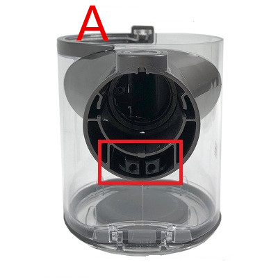 vacuum cleaner dust bucket for Dyson V6 DC58 DC59 DC62 DC74 vacuum cleaner dust bucket for Dyson V6 DC58 DC59 DC62 DC74