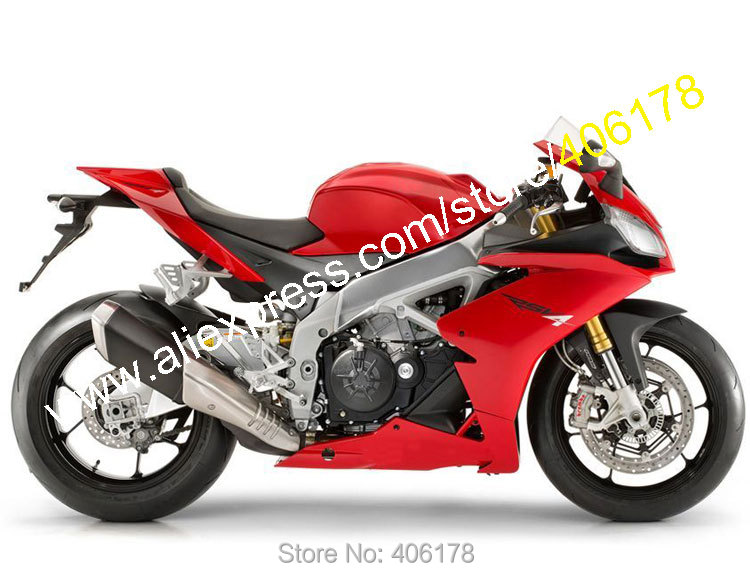 Hot Sales,For Aprilia RSV4 1000 2009-2015 RS V4 09 10 11 12 13 14 15 Full Red Aftermarket Sportbike Fairing (Injection molding) 14 15 3 2015