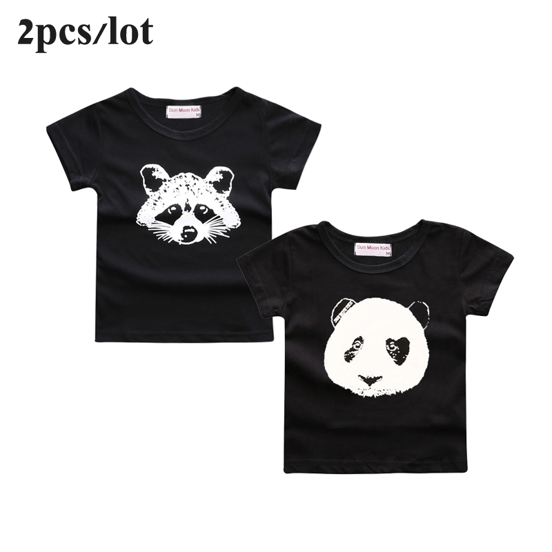 Sun-Moon-Kids-2PCSLot-baby-clothes-cartoon-fox-pattern-bebes-boys-girls-t-shirt-newborn-boy-tops-tee-infant-girl-clothing-2