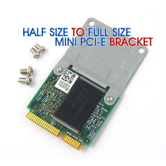 50 ピースミニ Pci E ハーフフルサイズ拡張カードワイヤレス無線 Lan アダプタ取付ブラケット 4 ネジで送料無料  グループ上の 電子部品 & 用品 からの 半導体 の中 1