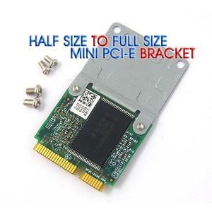 Image 1 - Adaptador de tarjeta de extensión Mini PCI E de tamaño medio a completo, soporte de montaje inalámbrico WIFI con 4 tornillos, 50 Uds., envío gratis