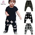 Fashion Kids Boys Harem Pants Nununu Cross Star Design Toddler Boys Trousers Children Boys Casual Sport Pants Baby Clothes 2016