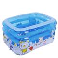 2016 New Style Lovely cartoon design pvc swimming pool for kids free shipping