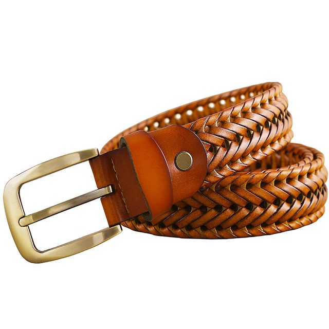 Plated Leather Belt 10