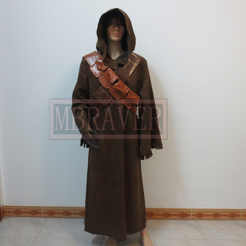 Star Wars Jawa Adult Costume Custom made Halloween carnival cosplay costume
