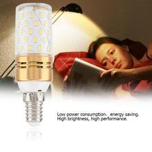E14 12W LED Corn Bulb Warm White Decorative Lamp Bulb LED Light Cylindrical Candle Bulb AC 85-240V Home lampada led стоимость