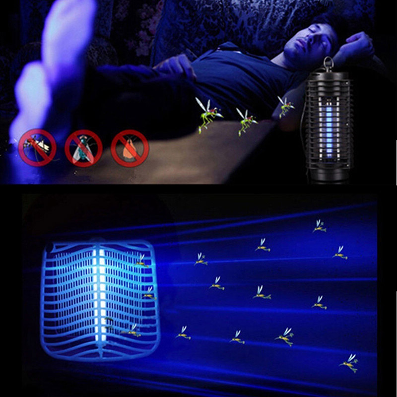Hot Electric Mosquito Killer Moth Killing Insect LED Bug US/EU 220V Zapper Fly Lamp Trap Wasp Pest PLD