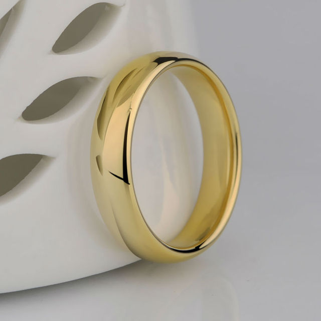 Gold Plating Couples Tungsten  Rings
