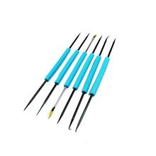 Professional 6pcs/lot Steel Solder Assist Repair Tool Electronic Tools Set Welding Grinding Cleaning Repair Tools Kits