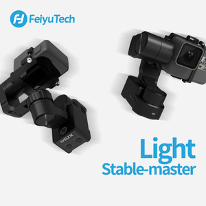Image 3 - FeiyuTech Feiyu WG2X giyilebilir Gimbal Tripod 3 eksenli sabitleyici GoPro Hero 8 7 6 5 4 Sony RX0 YI 4K eylem kamera sıçrama geçirmez