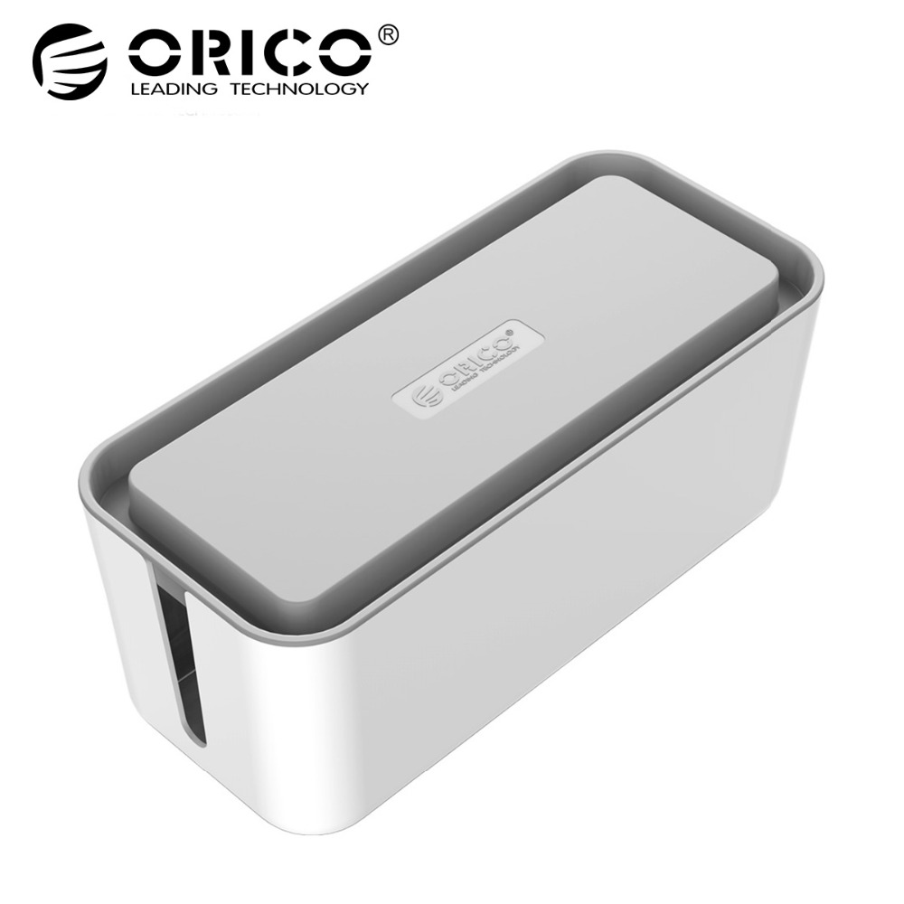ORICO CMB Protect Box Cable Winder Manager Power Strip Box for Adapter Wire/Charger Line/USB Network HUB Cable Management Box арматура крепежная apc horizontal cable manager