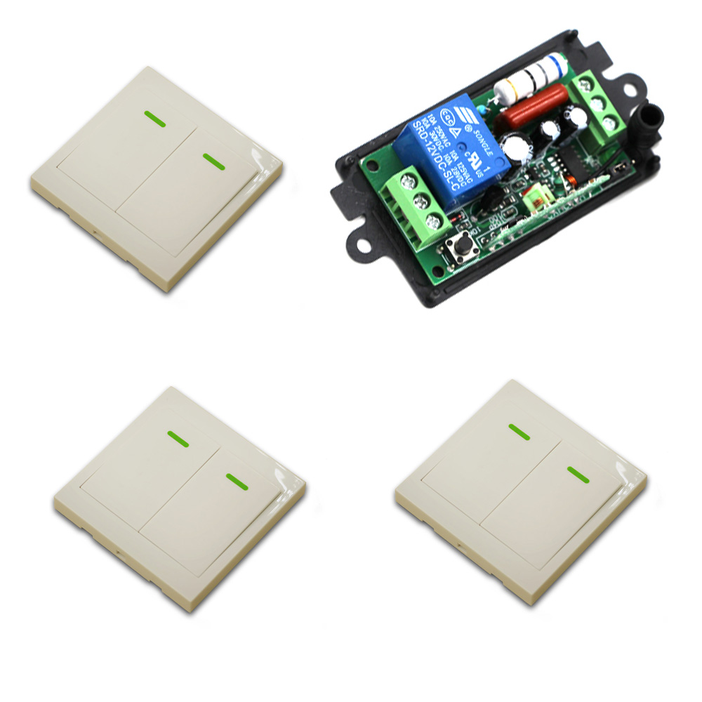 315Mhz Wireless Remote Control Switch 220V 1CH Wireless Power Relay Radio Light Switch Receiver Transmitter Smart house 220v 1ch radio wireless remote control switch 8 receiver