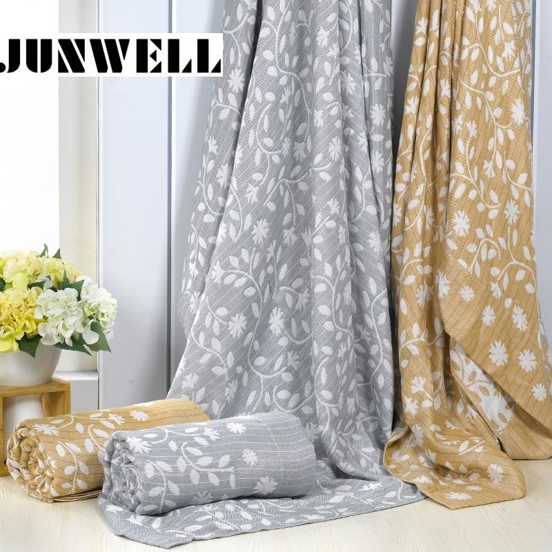 JUNWELL 100% Bamboo Fiber Blanket 150X200CM Bed Sofa Travel Breathable Muslin Large Soft Throw Blanket Para Blanket