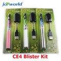 Fumador amistoso egot ce4 kit blister e shisha cigarrillo electrónico tubo de lava e-cig kit electrónico kit de inicio ecig 5 unids (MM)