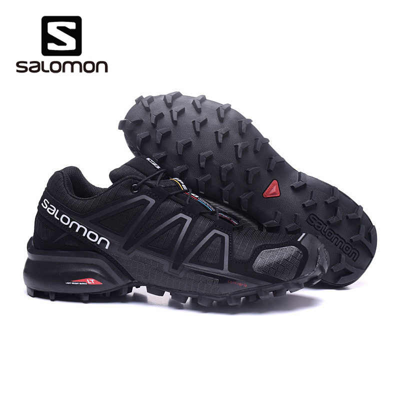 4e4167339c4b Salomon High Quality Men Shoes Speed Cross 4 CS sneakers Cross-country Off  Shoes White