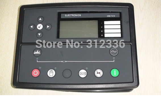 Free Shipping DSE7310 generator controller Auto Start Control Module suit for any diesel generator free shipping original amf25 com ap generator controller auto start control module