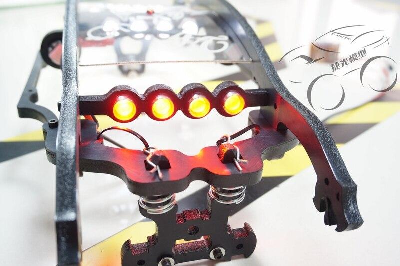 Super lumière LED phare + lumière latérale + feu arrière 10 pièces pour Tekno MT410 QL roll cage-in Pièces et accessoires from Jeux et loisirs    3