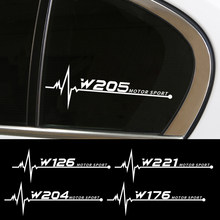 Car Side Window Stickers For Mercedes Benz W205 W212 W204 W203 W210 W213 W220 W221 W222 W108 W124 W126 W140 W168 W169 W176 W177