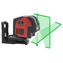New Leter L2P2G Self-Leveling Green Laser Bob Cross Line Laser Plumb laser new leter xl2 self leveling laser level cross line laser 360 degree rotation