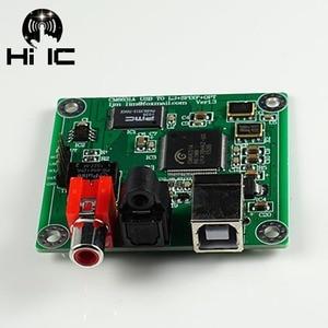 Image 3 - HIFI CM6631A interfejs cyfrowy DAC 24Bit 192 K karta dźwiękowa USB do SPDIF wyjście koncentryczne podłączyć dekoder nie obsługuje DTS