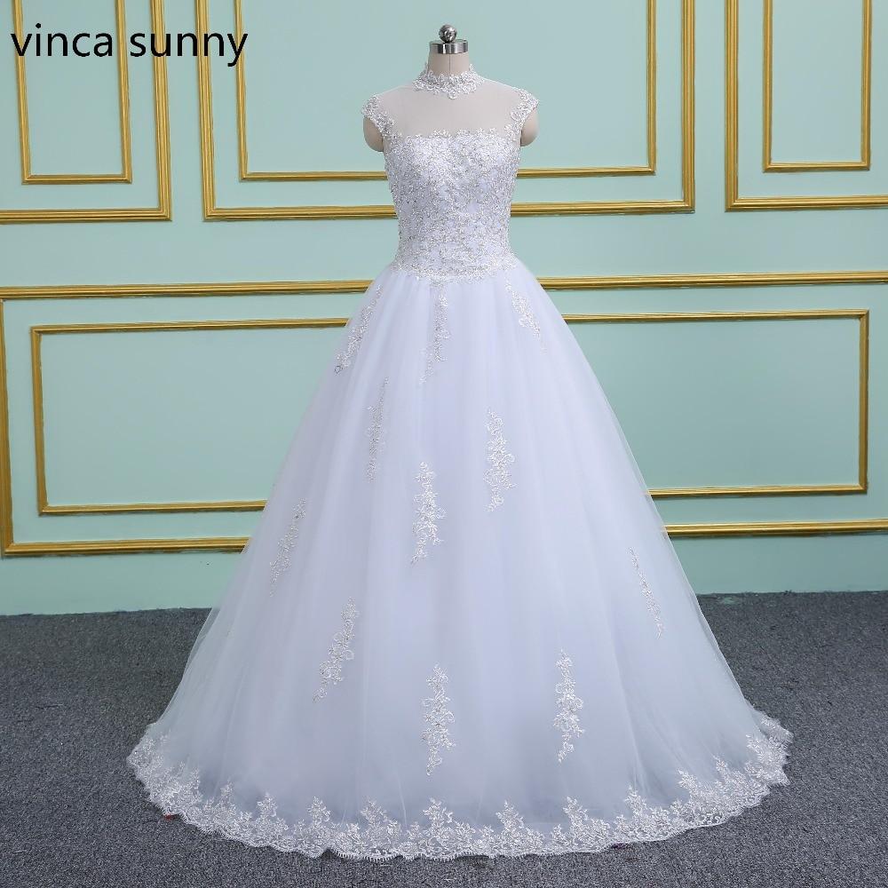 2019 Wedding Ball Gowns: Vinca Sunny 2019 New Ball Gown Princess Wedding Dresses