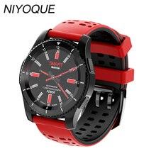 Niyoque GS8 Bluetooth Smart часы спортивные наручные часы с GPS монитор сердечного ритма шагомер Поддержка sim-карта для IOS телефона Android