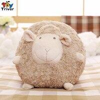 Cute Soft Plush Fat Sheep Ball Toy Stuffed Lamb Sleeping Sheep Doll Pillow Cushion Baby Kids