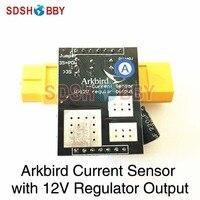 Arkbird Current Sensor with 12V Regulator Output with XT60 or T Plug
