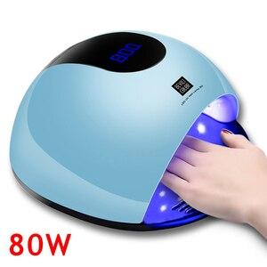 36,80w Fast Curing Nail Gel UV