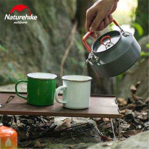 leve cha chaleira bule de cafe ao ar livre para camping