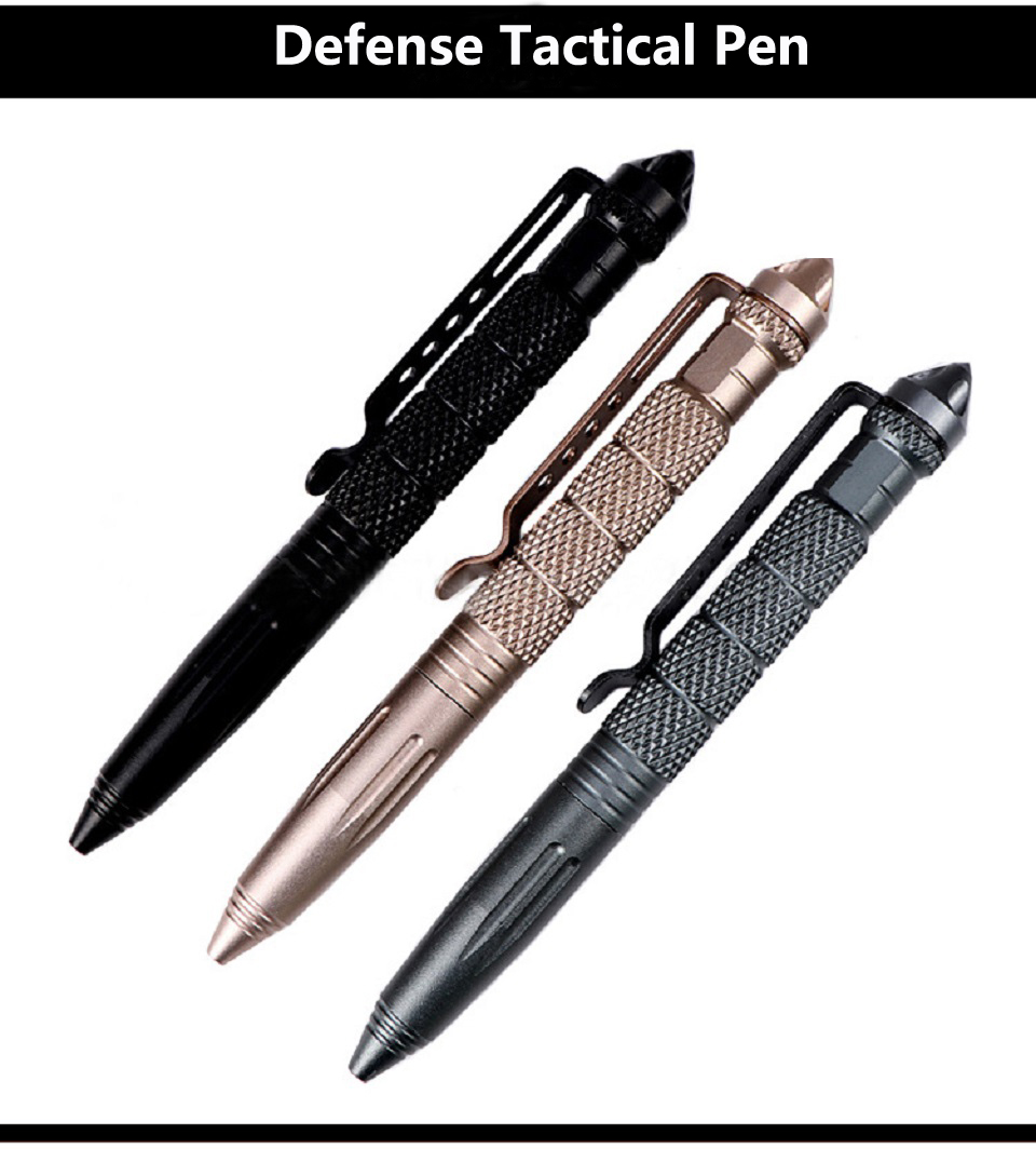 Practical Tactical Pens Defence Personal Tactical Pen Self Defense Pen Glass Breaker Multi-function Camping Tool For Writing