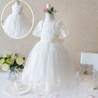 2Pcs Gorgeous Petal Hem Formal Occassion Evening Girl Birthday Party Dress Girls Clothes Children S Fancy