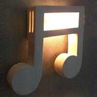 Современные белая Гипсовая нот коридор настенный светильник Спальня тумбы балкон прихожая Бра настенное зеркало спереди Настенные светил