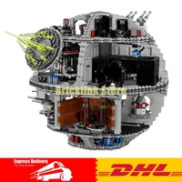 In Stock DHL LEPIN 05063 4016pcs Genuine New UCS Force Waken UCS Death Star Educational Building