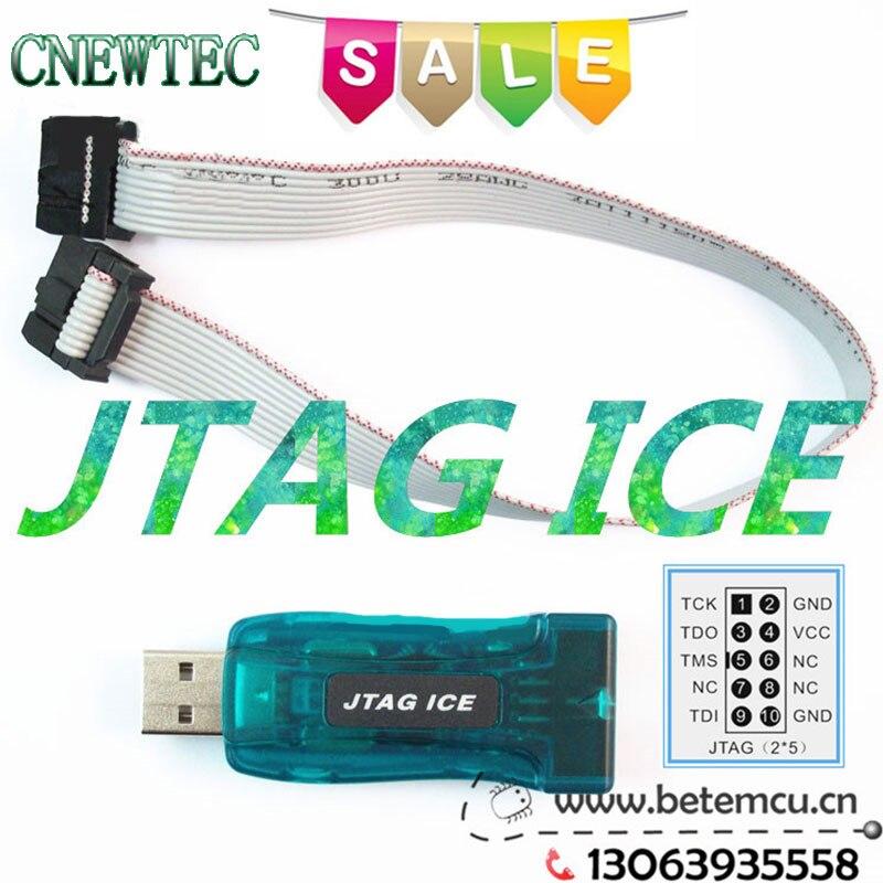 AVR USB Emulator Debugger Programmer JTAG ICE For Atmel Avrstudio 4.19  1PCS