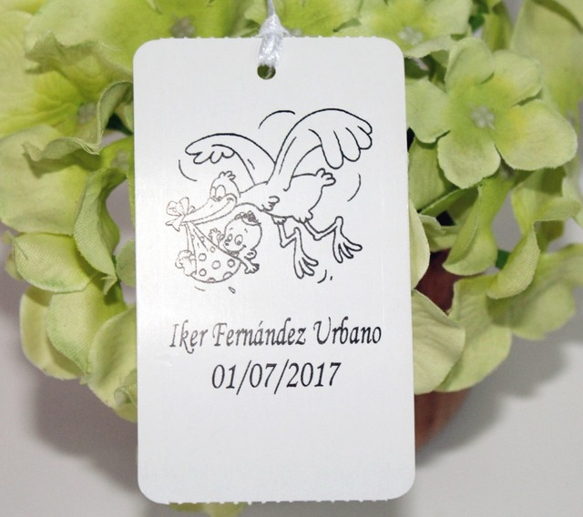 50 Personalized Baptism First Communion Baby Shower Thank You Tags Favors  Souvenirs Gift Chocolate Labels Tag