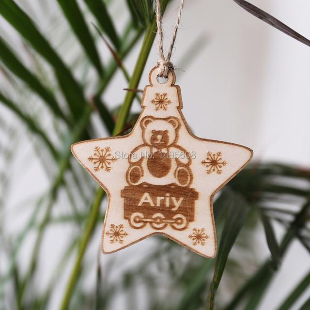 star ornament kids christmas ornament christmas ornaments personalized rustic ornament child ornament
