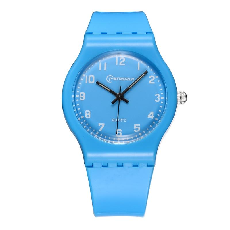 Relogio Masculino New electronic Jelly Watch Children Fashion Simple Sports Watches Waterproof Quartz Wristwatch Zegarek Damski