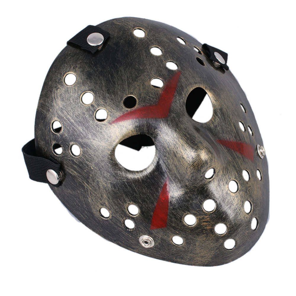 scary mask costume halloween creepy party masks jason voorhees